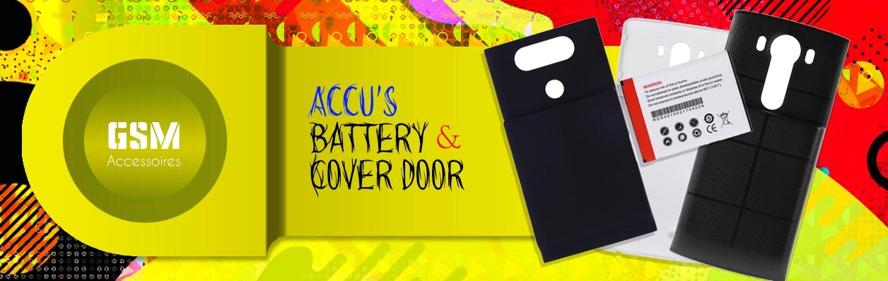 Battery & Cover Door
